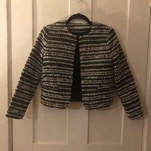Alice & Olivia Kidman box jacket blazer